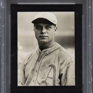 1920's Jimmie Foxx Original Photograph by Underwood & Underwood, PSA/DNA