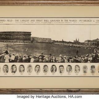 1909 Pittsburgh Pirates Panoramic Photograph.