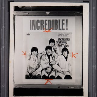1966 The Beatles Yesterday & Today Butcher Cover Original Photograph