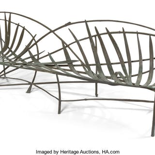 Claude Lalanne (French, 1924-2019) Garden Bench from the DeWitt and