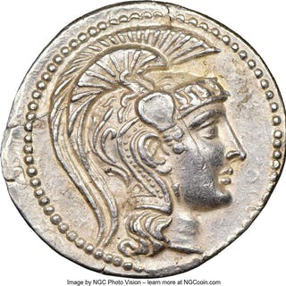 ATTICA. Athens. Ca. 2nd-1st centuries BC. AR tetradrachm (31mm, 16.91