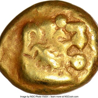 LYDIAN KINGDOM. Walwet (before ca. 560 BC). EL sixth-stater or hecte