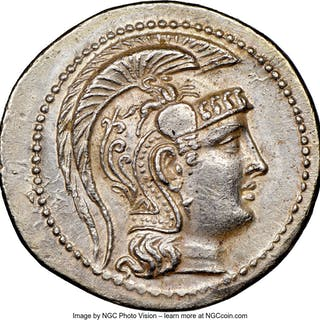 ATTICA. Athens. Ca. 2nd-1st centuries BC. AR tetradrachm (32mm, 16.88
