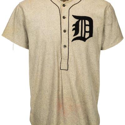 1924-26 Detroit Tigers Game Worn Uniform.