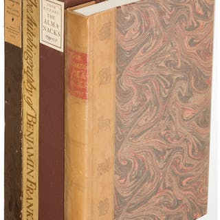 [Limited Editions Club]. Benjamin Franklin. The Autobiography. [and:]