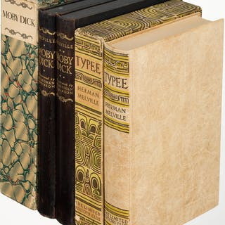 [Limited Editions Club]. Herman Melville. Typee [and:] Moby Dick.