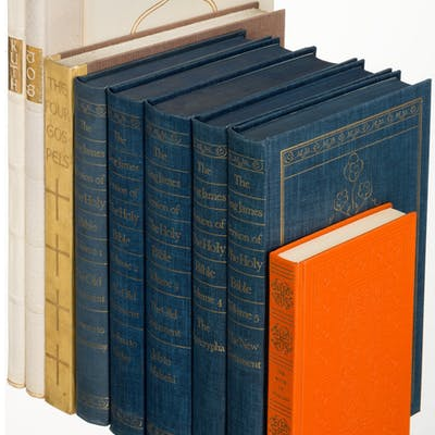 [Limited Editions Club]. Lot of Five Titles of Religious Subjects.