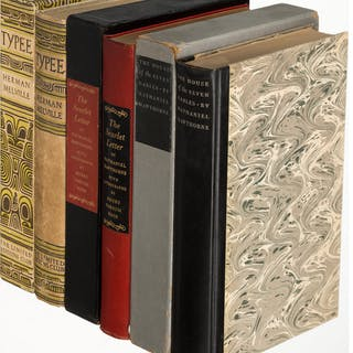 [Limited Editions Club]. Nathaniel Hawthorne. Typee [and:] The House