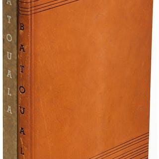 [Limited Editions Club]. René Maran. Batouala. New York: 1932. Signed
