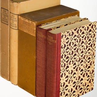 [Limited Editions Club]. Miguel Cervantes [and:] Dante Alighieri.