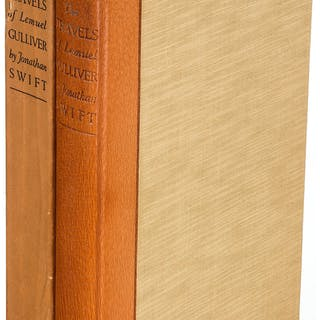 [Limited Editions Club]. Jonathan Swift. The Travels of Lemuel Gulliver.