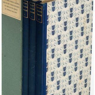 [Limited Editions Club]. Sir Thomas Malory. Le Morte Darthur. New