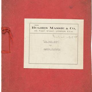 """Agatha Christie. """"The Lost Mine"""" Carbon Typescript. [London: circa"""