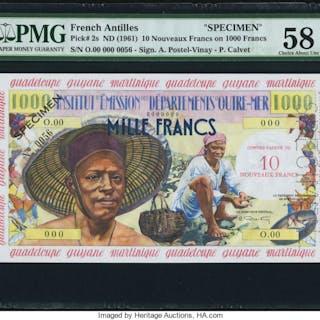 French Antilles Institut d'Emission des Departements d'Outre-Mer 10