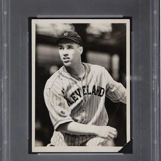 1936 Bob Feller Original News Photograph, PSA/DNA Type 1.