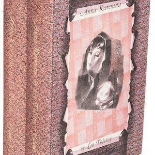 [Limited Editions Club]. Leo Tolstoy. Anna Karenina. Cambridge: 1951.