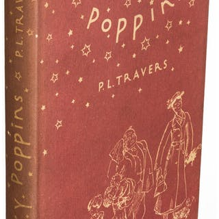 P. L. Travers. Mary Poppins. New York: 1934. First U. S. edition. ...