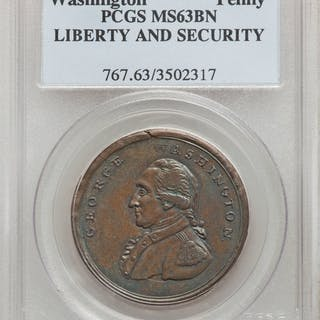 WASHINGTON Washington Liberty & Security Penny, BN