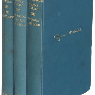 Eugene O'Neill. Lot of Three English Editions. London: [1926-1930].