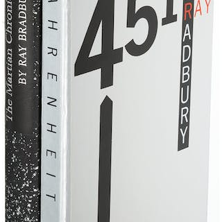 [Limited Editions Club]. Ray Bradbury. The Martian Chronicles [and:]