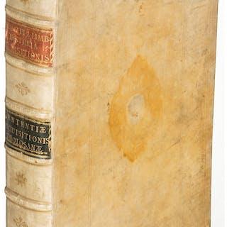 [Inquisition]. Philippi á Limborch. Historia Inquisitionis. Amsterdam: