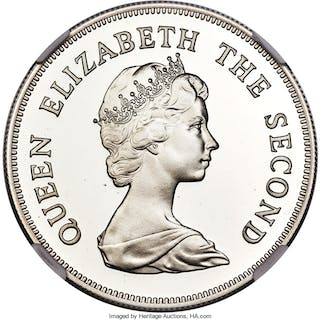 British Colony. Elizabeth II 3-Piece Certified gold Conservation Series