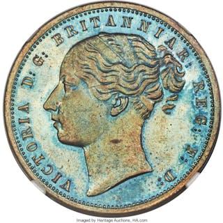 Griquatown. British Colony - Victoria copper Proof Pattern Penny 1890