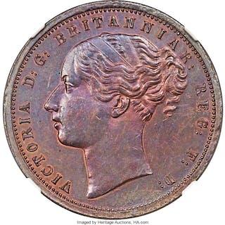Cape of Good Hope. British Colony - Victoria bronze Proof Penny 1889