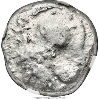 CYPRUS. Lapethus. Sidqmelek (?) (ca. 435 BC). AR stater (22mm, 11.05