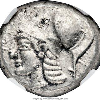 CYPRUS. Lapethus. Sidqmelek (ca. 435 BC). AR stater (21mm, 11.04 gm
