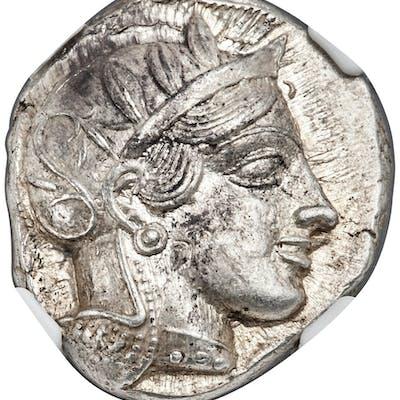 ATTICA. Athens. Ca. 440-404 BC. AR tetradrachm (22mm, 17.21 gm, 2h).
