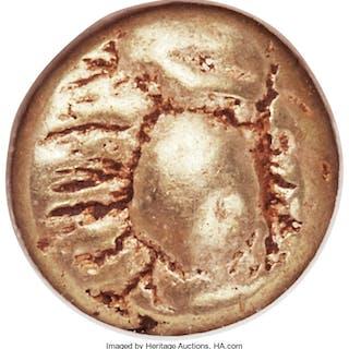 IONIA. Ephesus. Ca. 600-550 BC. EL sixth-stater or hecte (10mm, 2.32