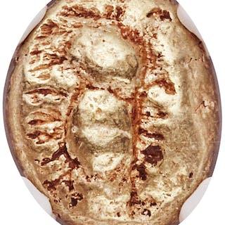 IONIA. Ephesus. Ca. 600-550 BC. EL third-stater or trite (11mm, 4.67