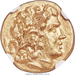 PONTIC KINGDOM. Mithradates VI (120-63 BC). AV stater (19mm, 8.27
