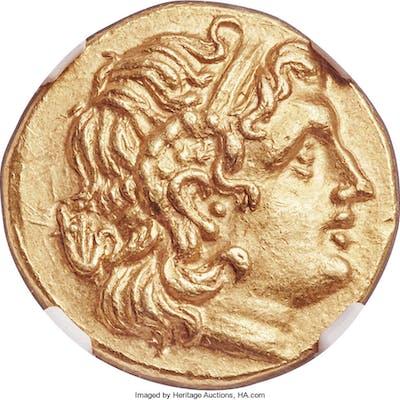 PONTIC KINGDOM. Mithradates VI (120-63 BC). AV stater (20mm, 8.47