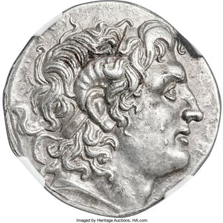 THRACIAN KINGDOM. Lysimachus (305-281 BC). AR tetradrachm (30mm, 16.91