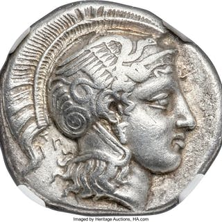 THESSALY. Pharsalus. Ca. 425-350 BC. AR drachm (19mm, 6.04 gm, 8h).