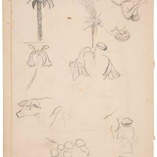 Paul Gauguin. Autograph Manuscript. ...