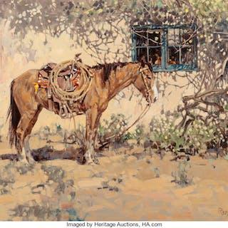 Ross Stefan (American, 1934-1999) Jose's Horse, 1968 Oil on canvas