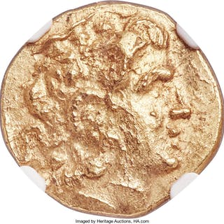 PONTIC KINGDOM. Mithradates VI (120-63 BC). AV stater (19mm, 8.14