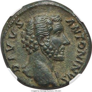 Divus Antoninus Pius (AD 138-161). AE sestertius (30mm, 23.95 gm