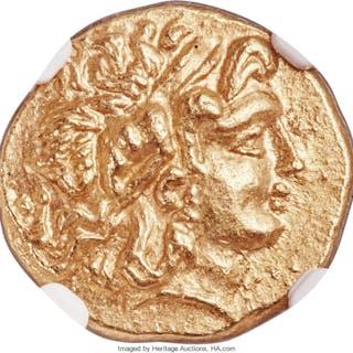 PONTIC KINGDOM. Mithradates VI (120-63 BC). AV stater (18mm, 8.39
