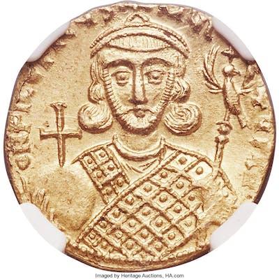 Philippicus (Bardanes) (AD 711-713) AV solidus (19mm, 4.47 gm, 6h)
