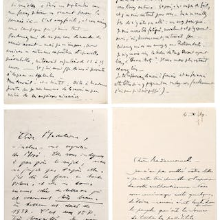 Madeleine Rousseau. Letters of Correspondence.  ...
