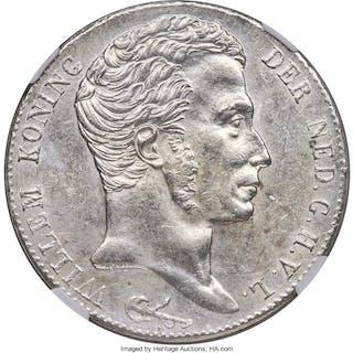 Willem I 3 Gulden 1820 MS61 NGC,...