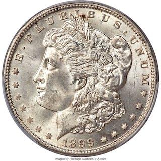 1899-O $1 Micro O, VAM-4, MS