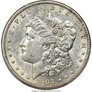 1903-S $1 VAM-2, MS
