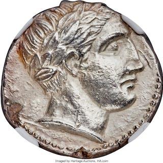 PAEONIAN KINGDOM. Lycceius (ca. 359/6-335 BC). AR tetradrachm (23mm