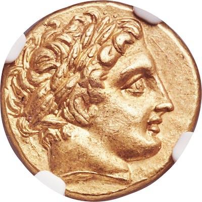 MACEDONIAN KINGDOM. Philip II (359-336 BC). AV stater (18mm, 8.61