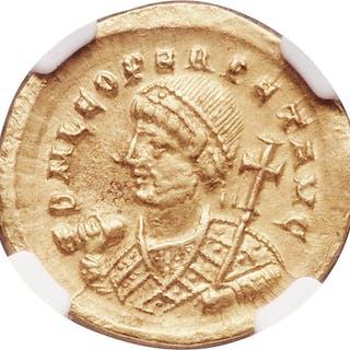 Leo I the Great, Eastern Roman Empire (AD 457-474). AV solidus (21mm